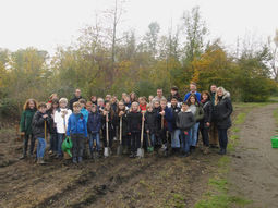 Tree-planting campaign of Alexander von Humboldt secondary school
