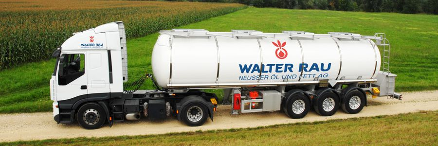 Truck of Walter Rau for truck cleaning plant